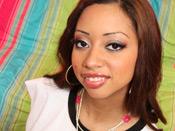 Angel Cummings - Super hot black girl fucks ´n sucks giant monster cock