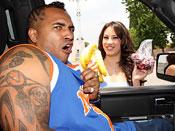 Dahlia Sin - Hot brunette girl gets covered with OG man juice!