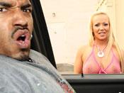 Austin Taylor - Blonde slut get pounded hard by OG´s Big Black dong!