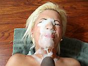 Bibi Noel - Huge black cock attacking a tight slut