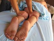 Lexi Belle  - Masseuse rubs blonde teen till she gets horny wet!