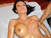 Franceska Jaimes - Horny slut gets a massage with a happy ending