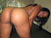 Lickable - Hot juicy black slut get non-stop white hard cock action