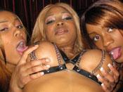 Sasha - Four black hoes fuck their pimp