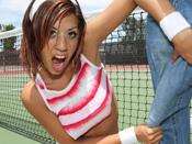 Layla Storm - SLut takes godzilla dick while Yoga Mom gets humiliated!