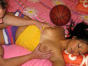Lana Violete  - Sleeping slut gets her faed gizzed!