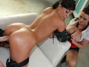 Jackie Daniels - Cum slut Jackie Daniels Fucked hard and tied up!