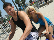 Tessa Taylor - Cute teen blonde  fucked after a bike ride at the beach!