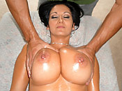 Ava Addams - Dirty masseuse takes advantage of stupid girl