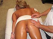 Heather Summers - Hot slut gets fucked on the massage table