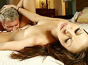 Missy S - Dirty old grandpa seducing a stupid young slut