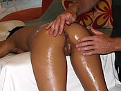 Amia Miley - Horny sluts gets much more on the massage table