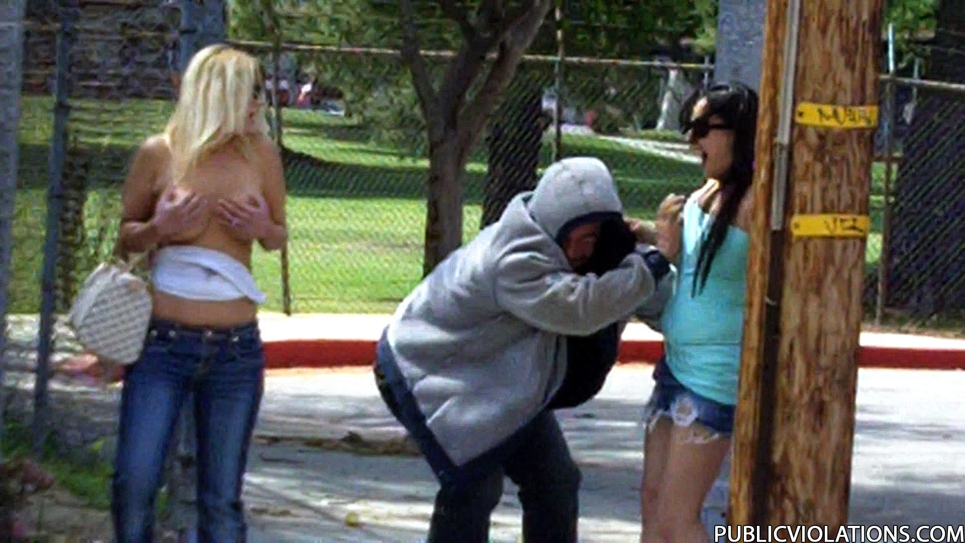 Amateur girls sharked on the streets 2 - 3 part 8
