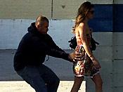 Epic sharking - Girl falls prey for epic street sharking