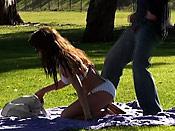 Sunbathing hottie cock surprise - Sunbathing hottie cock surprise