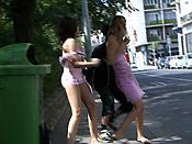 Blonde lesbian gets sharked - Blonde lesbian gets sharked