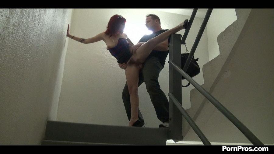 stairwell fuck