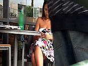 Text this bitch! - Texting bitch gets public cum disgrace