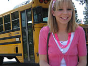 Chastity Lynn  - School chcik gets taped up and made to cum!