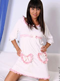 Sensual Nubile Fayina loves to give her craving pussy a tickling vibrator masturbation at bedtime