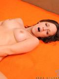 Fresh amateur Jada Stevens finger fucks her tight pussy until she orgasms