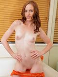 Nubile Kali Kenzington strips off her sexy lingerie and fucks her vibrator