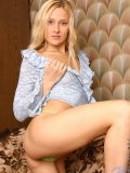 seductive hussy katerin gets naked in the sofa