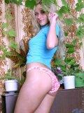 hot teen girl reveals a bit of her perfect bosoms