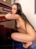 Natalie really loves to show us her firm body