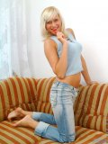 Rose is a really happy teen she is seriously always smiling and having a great time getting naked and playing
