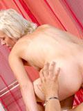 Tight blonde Teeta enjoys every pleasurable hardcore scene from oral sex to raw fucking