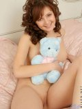 Innocent looking teen with perky tits waiting to be rammed