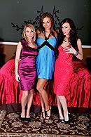 Madison Scott, Nika Noire, Jennifer White Pictures in Slut Wives