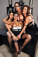Brazzers Network  Francesca Le,Vanilla Deville,Ava Addams,Veronica Avluv