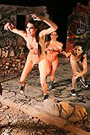 Rachel RoXXX, Chanel Preston Pictures in S.L.U.D.S. - Subhumanoid Lesbian Underground Dwellers