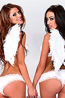 Jenni Lee, Breanne Benson Sex Video in  Horny Hosts of Heaven