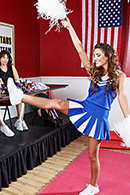 Emma Stoned, August Ames Pictures in Cheer Harder, Slut