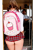 Brooke Wylde Pictures in The Boobs on the Bus Go Round