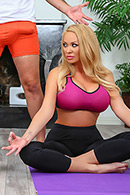 Summer Brielle, August Taylor Pictures in Working Out The Wives