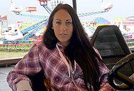Theme Park Pickup Sex Video With El Storm