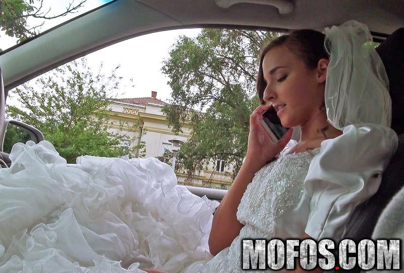 Amirah adara rejected bride bangs stranger stranded teen