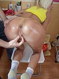 Sex experiments with hot slut
