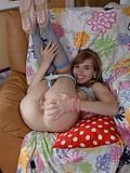 Dirty teen bitch masturbating