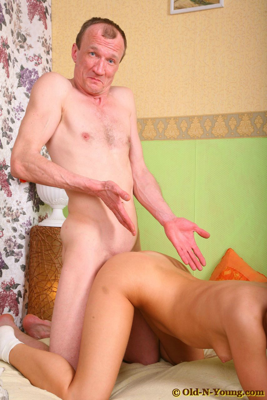 young girls fuck old guys