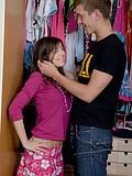 Sweet teen gets penetrated