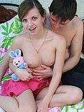 Sweet teen sexually exploited