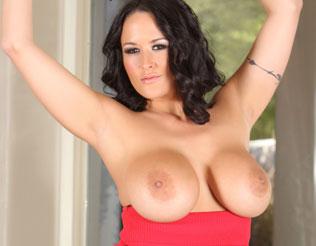 Carmella Bing shows off her incredible big boobs!