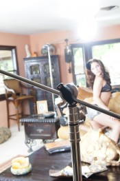Behind the scenes with the sexy and hot Gracie Glam.